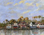 "Dry Hulls by Neil Walling Oil ~ 16"" x 20"""