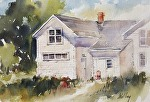 """Thoreson Home"" by Neil Walling Watercolor ~ 9"" x 12"""