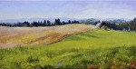 "Ready To Hearvest"" by Neil Walling Oil ~ 12"" x 24"""