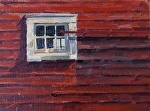 "Thoreson Farm Window"" by Neil Walling Oil ~ 9"" x 12"""