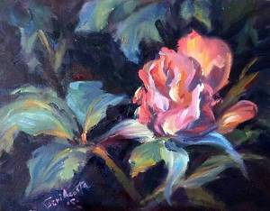mother'sdayrose8x10400 by geri acosta - Oil