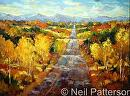 Rolling Hills by Neil Patterson Oil ~ 36 x 48