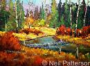 Beaver Dam by Neil Patterson Oil ~ 36 x 48