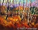 Fall Light by Neil Patterson Oil ~ 24 x 30