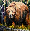 Grizzly #2 by Neil Patterson Oil ~ 30 x 28