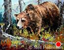Grizzly by Neil Patterson Oil ~ 16 x 20