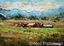 Rocky Mtn Ranch by Neil Patterson Oil ~ 9 x 12