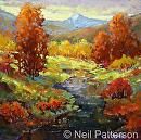 Early Fall by Neil Patterson Oil ~ 24 x 24