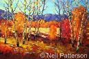 Fall Aspens by Neil Patterson Oil ~ 24 x 36