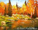 Fall Pond by Neil Patterson  ~  x