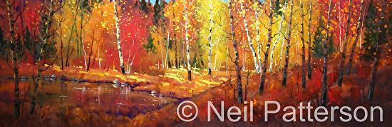 Fall Pond - Oil