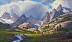 Bridger  Wilderness by Lanny Grant