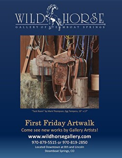 Lanny Grant - Wildhorse Gallery Show