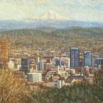 Peggie Moj� - Pittock Mansion Exhibition - Mount Hood: Contemporary Art Views