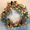 flower fantasy wreath