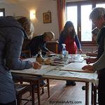 Kelly Borsheim - Painting Valleriana - Tuscany Italy - August 2020