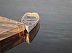 White Boat, Bucks Harbor sunrise by John Bowdren