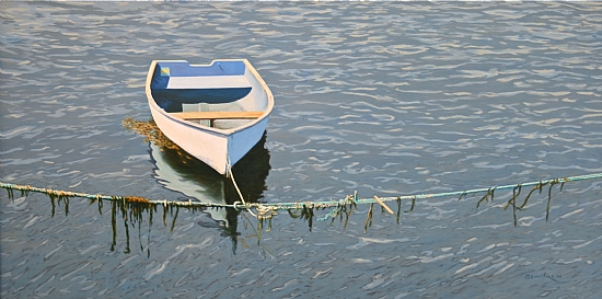 Between Tides by John Bowdren Acrylic ~ 24 x 48