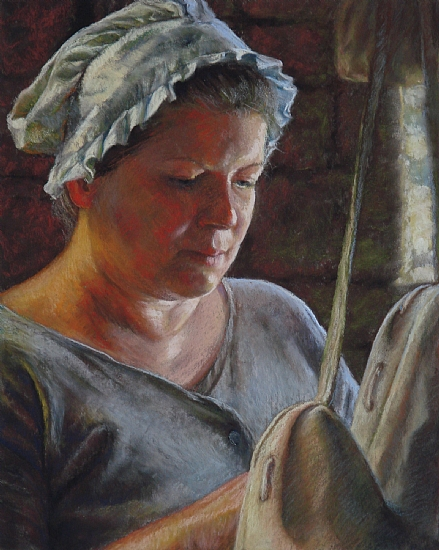 The Miller's Wife by Rita Kirkman Pastel ~ 10 x 8 inches