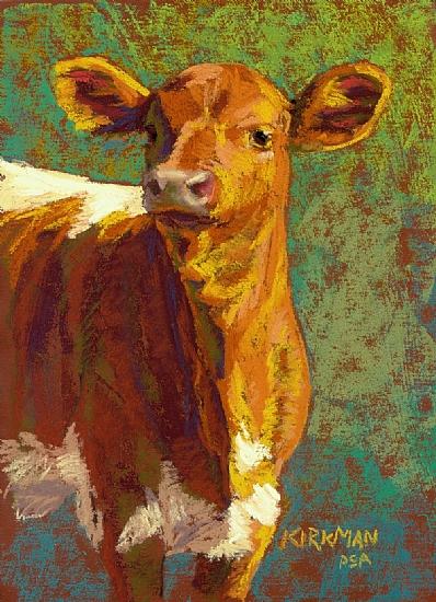 Raff by Rita Kirkman Pastel ~ 7 x 5 inches
