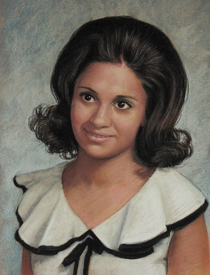 Mrs Castaneda by Rita Kirkman Pastel ~ 16 x 12 inches
