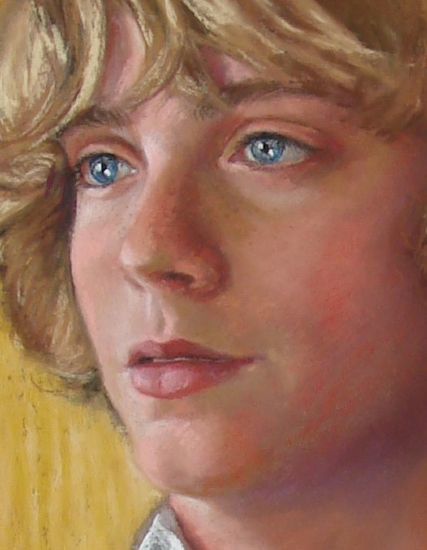 Graham, detail by Rita Kirkman Pastel ~  x