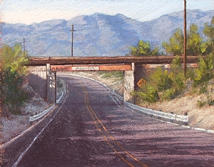 "Passing Under Southern Pacific by Jeri Salter Pastel ~ 16"" x 20"""
