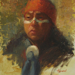 Sherri Aldawood - Portrait, Figure, and Small Works Exhibition