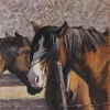 """Draft Horses at Rest"""