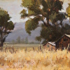 Old Homestead - plein air painting