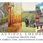 Carol Buswell - Beautiful Loudoun show with the Loudoun Sketch Club