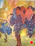 "Autumn Fruit by Sharon Parker Watercolor ~ 10"" x 8"""