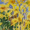 Aspen Sentinels by Nora Larimer Watercolor ~ 16 x 9.5