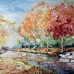 Minnie Valero - San Diego Watercolor Society April Show