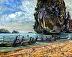 Thailand Beach by Stephen Dobson