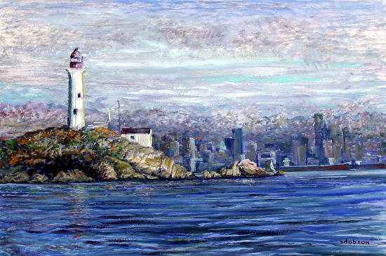 Lighthouse Park - Oil