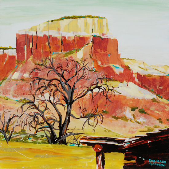 Ghost Ranch - Acrylic