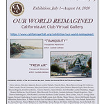 Lucinda Johnson - California Art Club, Our World Reimagined, Virtual Art Show