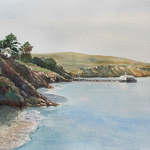 Lucinda Johnson - W.A.S.H. Watercolor Painting of the Year 2020 (2nd Place, Landscape/Seascape)