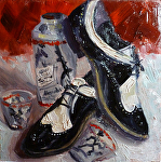Puttin on the Ritz by Angelini Studio Oil ~ 6 x 6