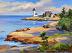 Lighthouse, Rockport by Daisy de Puthod