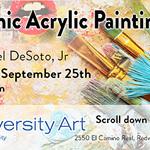 Rafael DeSoto. Jr. - Dynamic Acrylic Painting