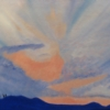 "Alcosebre Sunset by Denise Marie Brown Oil ~ 9"" x 12"""