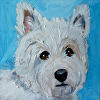 Westie - Commissioned Painting