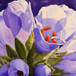 "Jane Fritz - New Mexico Art League's ""In Bloom"""