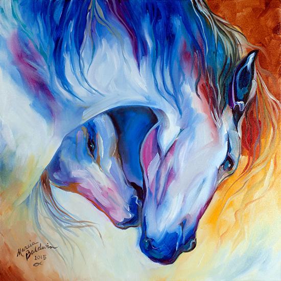 ETERNAL BOND Equine - Oil