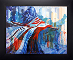 USA Independence day by KiKi Kaye Oil ~  x