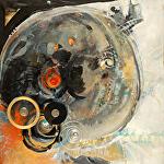 """Another Universe"" by KiKi Kaye Acrylic ~ 24"" x 24"""