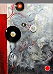 """""""Le Secrete en Musique"""" by KiKi Kaye  ~ 52"""" x 40"""""""