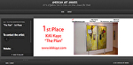"1 st Place ""The Plan""American Art Award"" Sculpture Nonresentational by KiKi Kaye Oil ~  x"